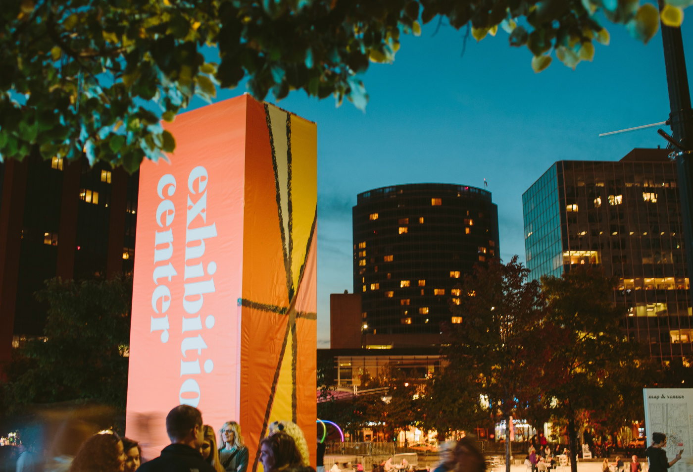 ArtPrize 2014 Monolith at Night