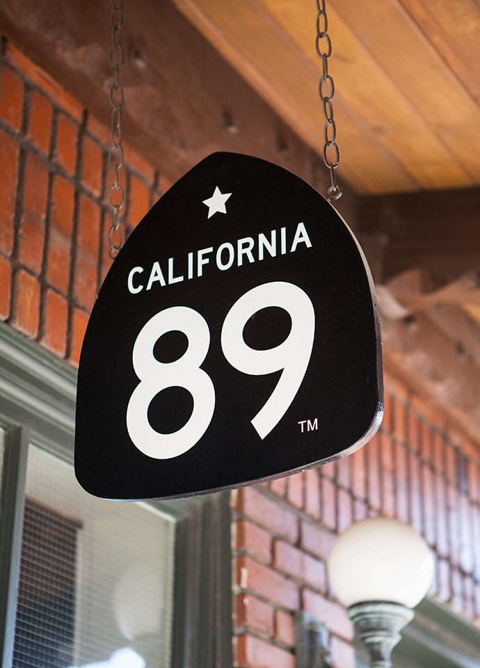 California 89 Sign