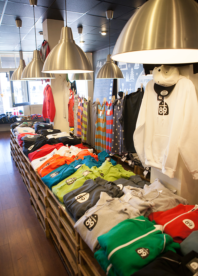 California 89 Interior with Apparel