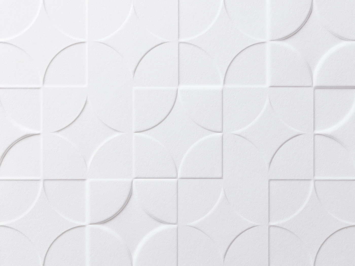 Embossed and debossed patterns