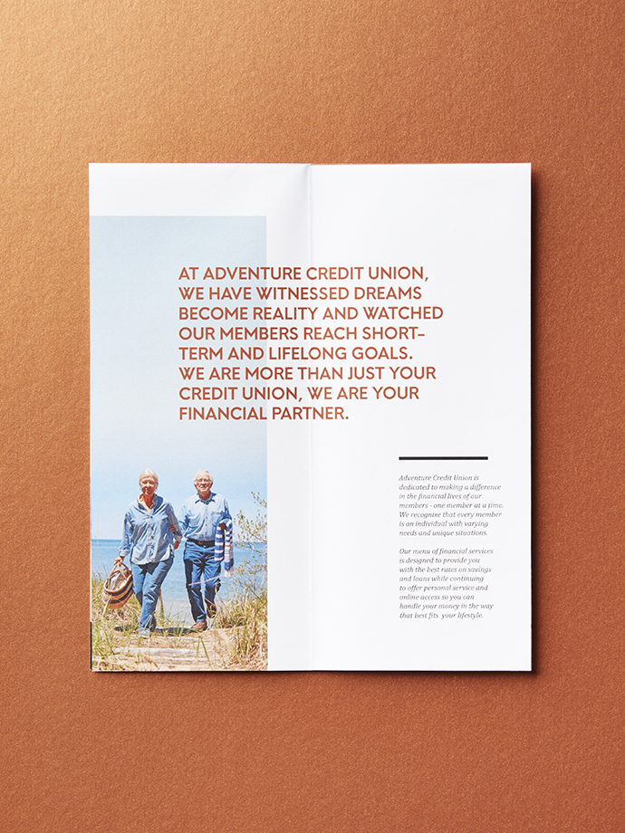 Adventure Credit Union brochure