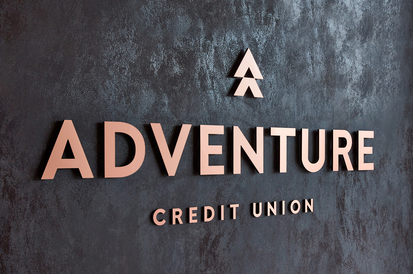 Adventure Credit Union Brand Wall