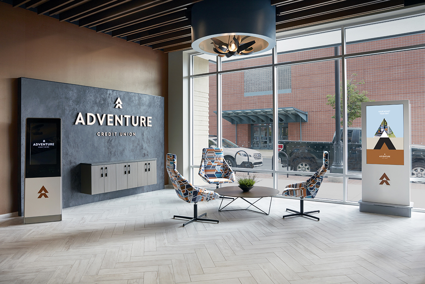 Adventure Credit Union Interior