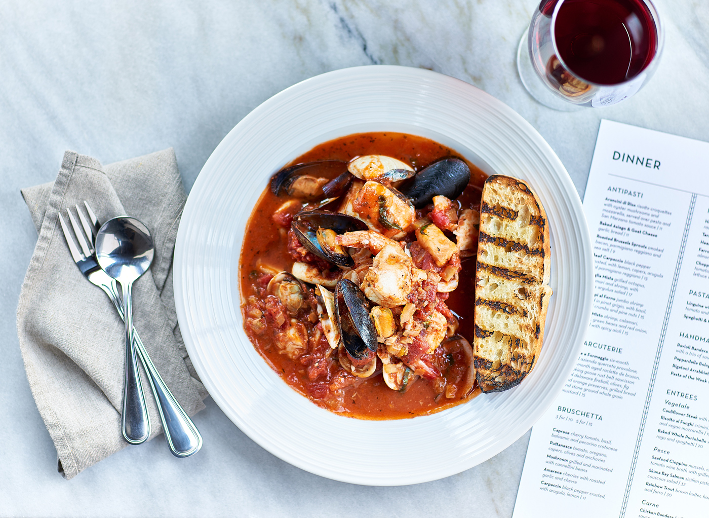 Terrace Room Photo of Seafood Cioppino
