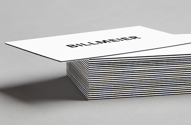 Billmeier Business Cards