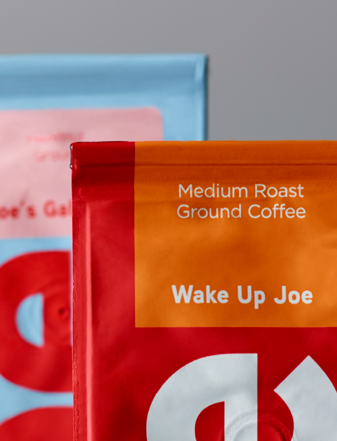 Joe Coffee Packaging Detail