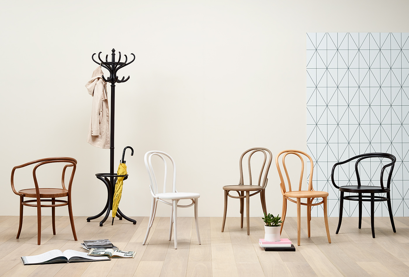 Grand Rapids Chair Company Photo of Bentwood Chairs