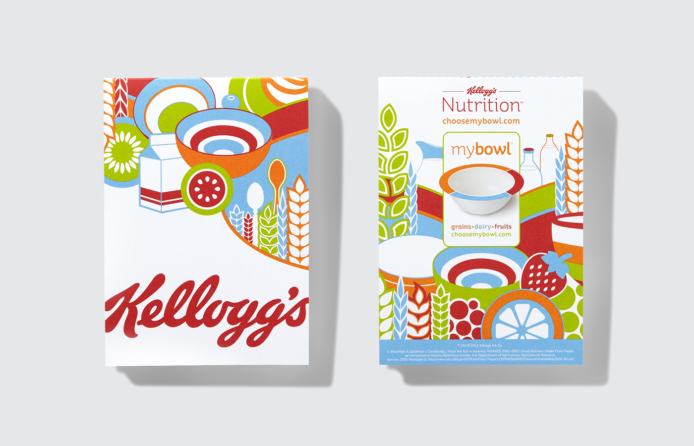 Kellogg's Nutrition Notepads
