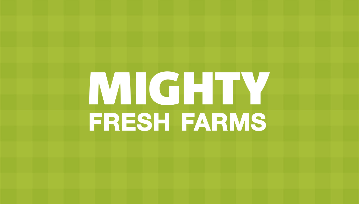 Mighty Fresh Farms Logo