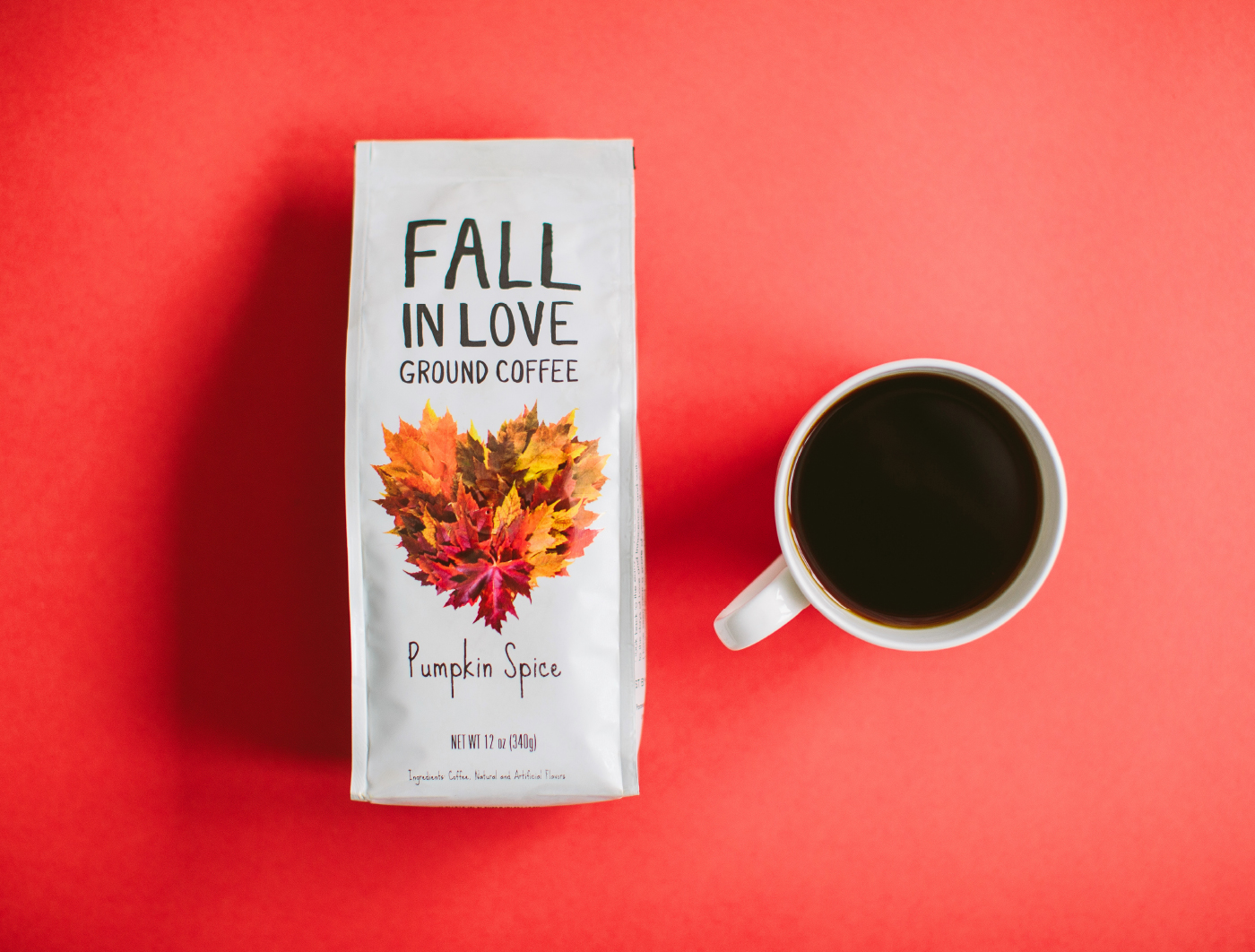 Paramount Fall in Love Coffee Packaging
