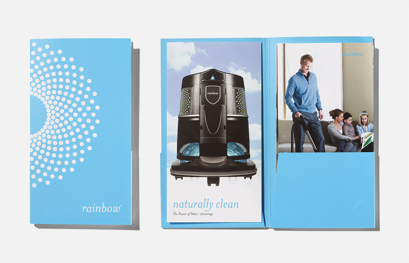 Rexair Rainbow Brochure and Folder