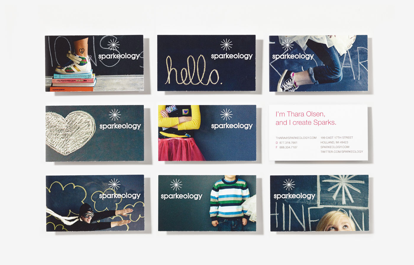 Sparkeology Business Cards