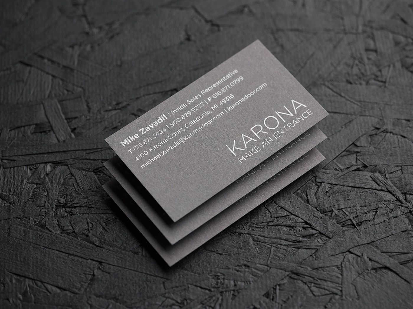 Karona Business Cards