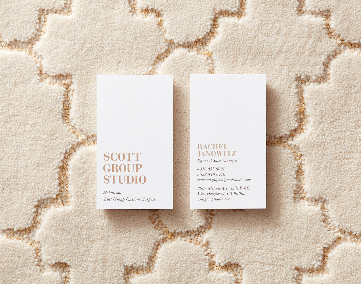 Scott Group Studio business cards