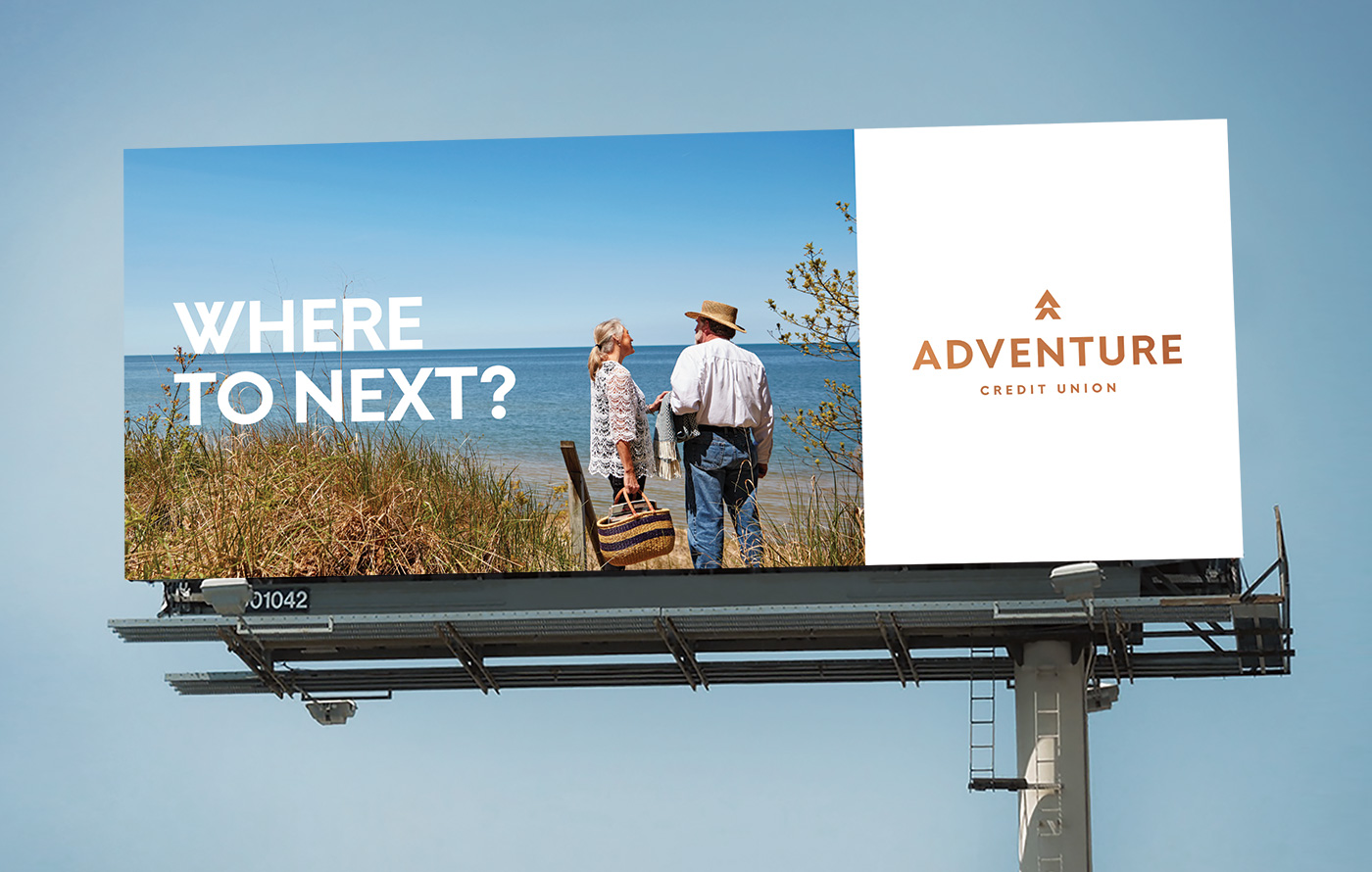 Adventure Credit Union billboard