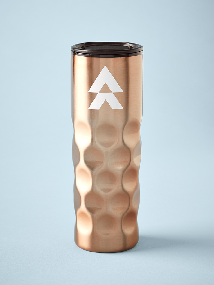 Adventure Credit Union Copper Travel Mug