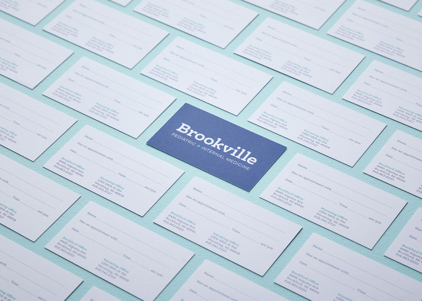 Brookville Appointment Cards
