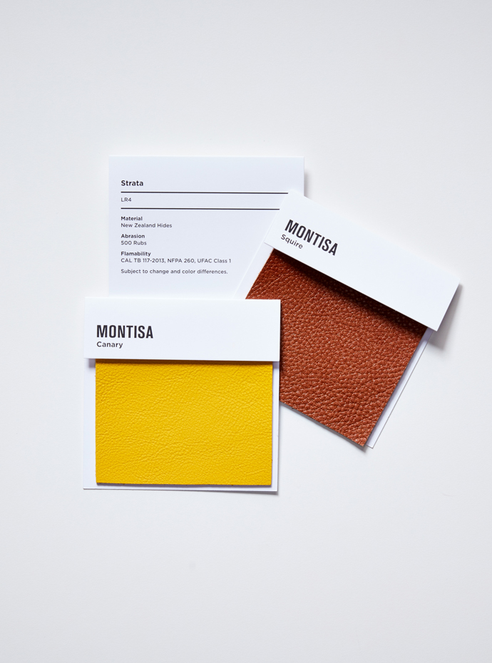 Montisa Leather Samples