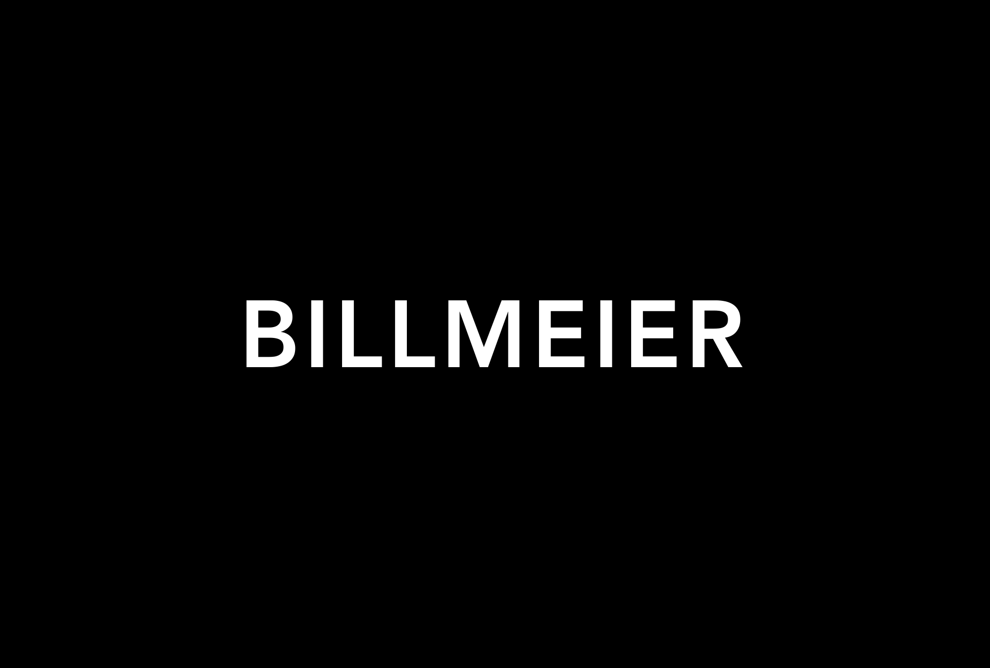 Billmeier Group Wordmark