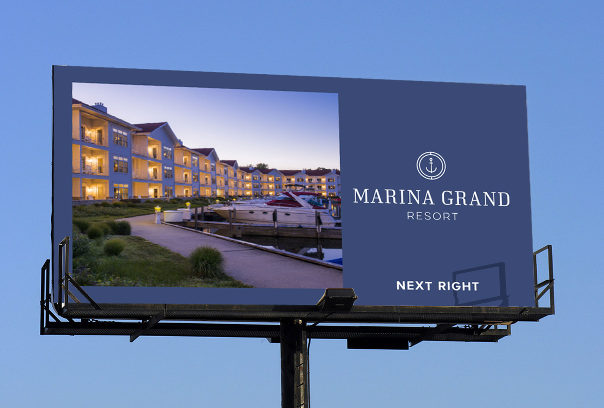 Resort Billboard