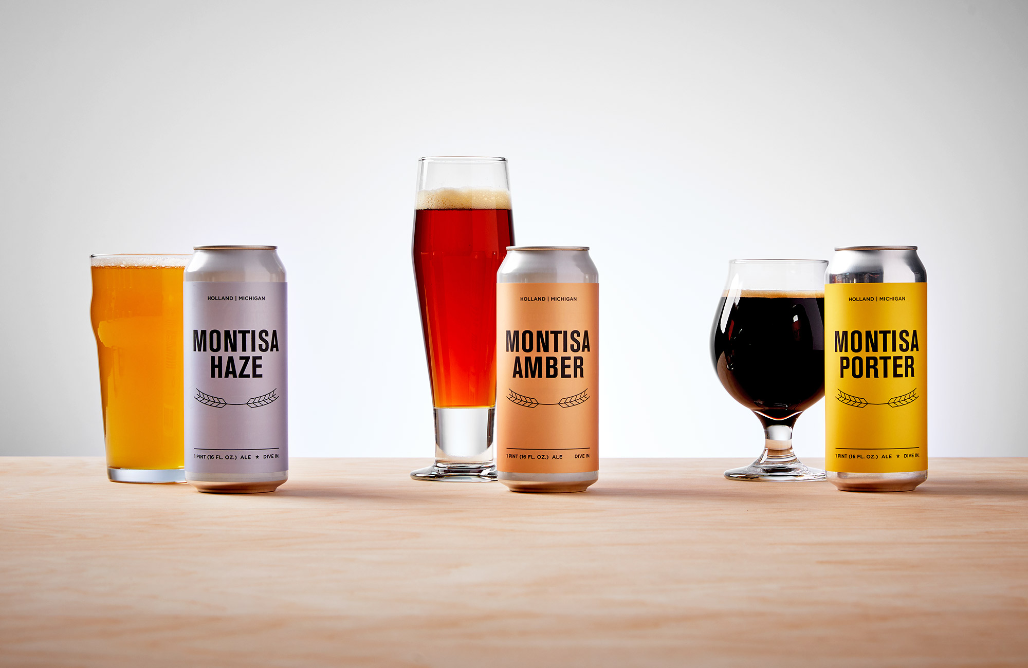 Montisa beer cans.