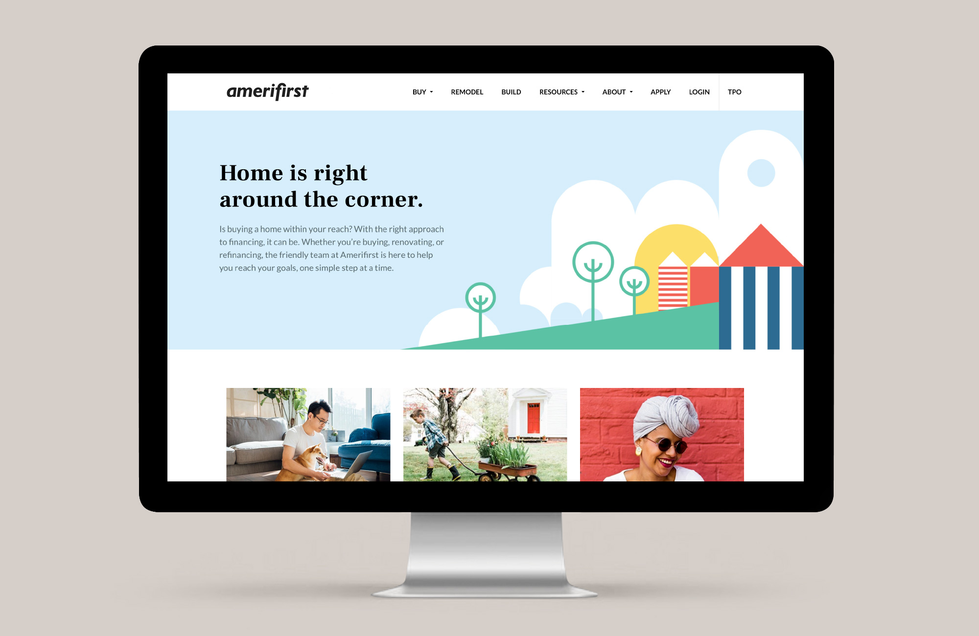 Amerifirst website.
