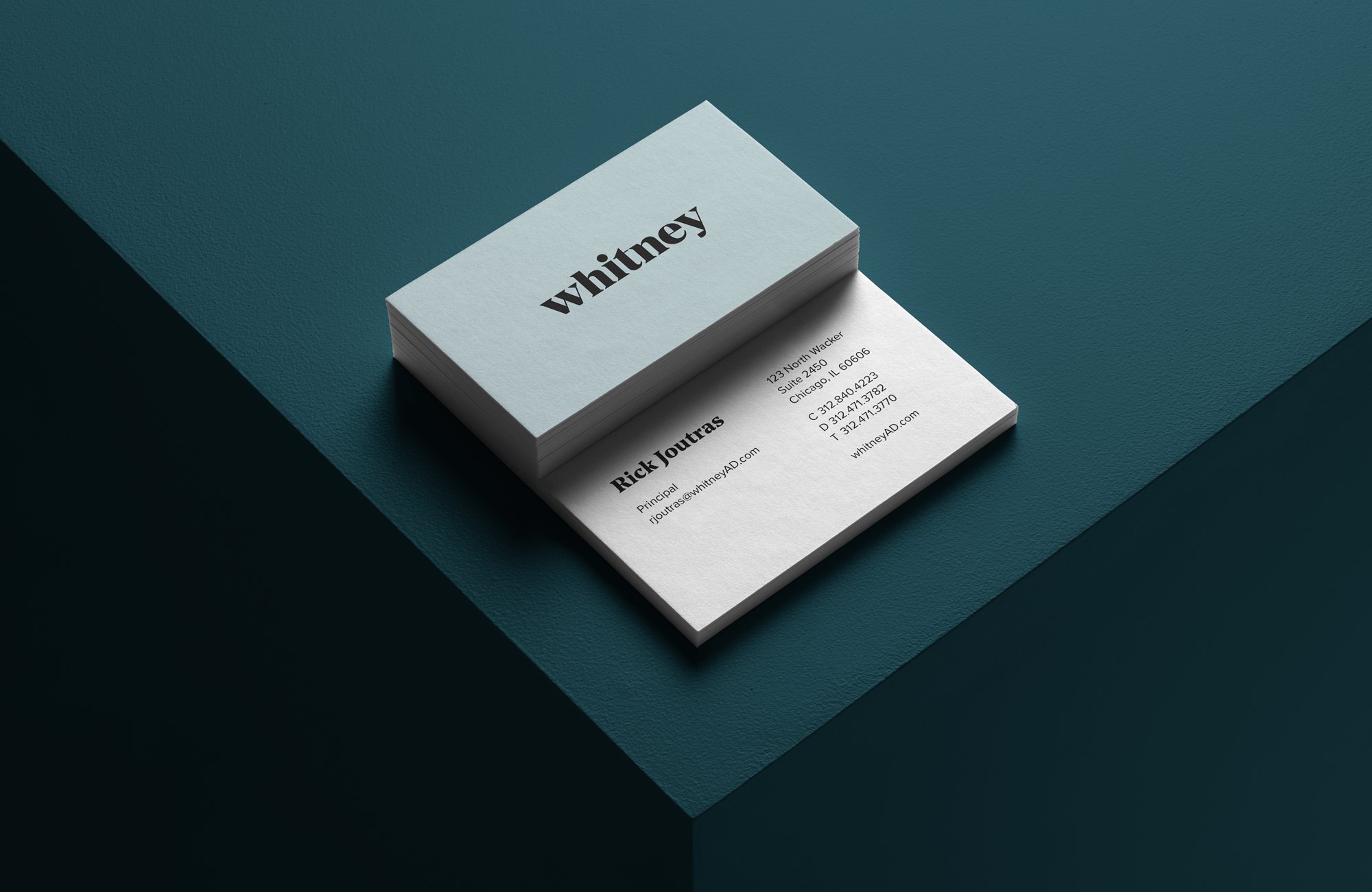 whitney business cards