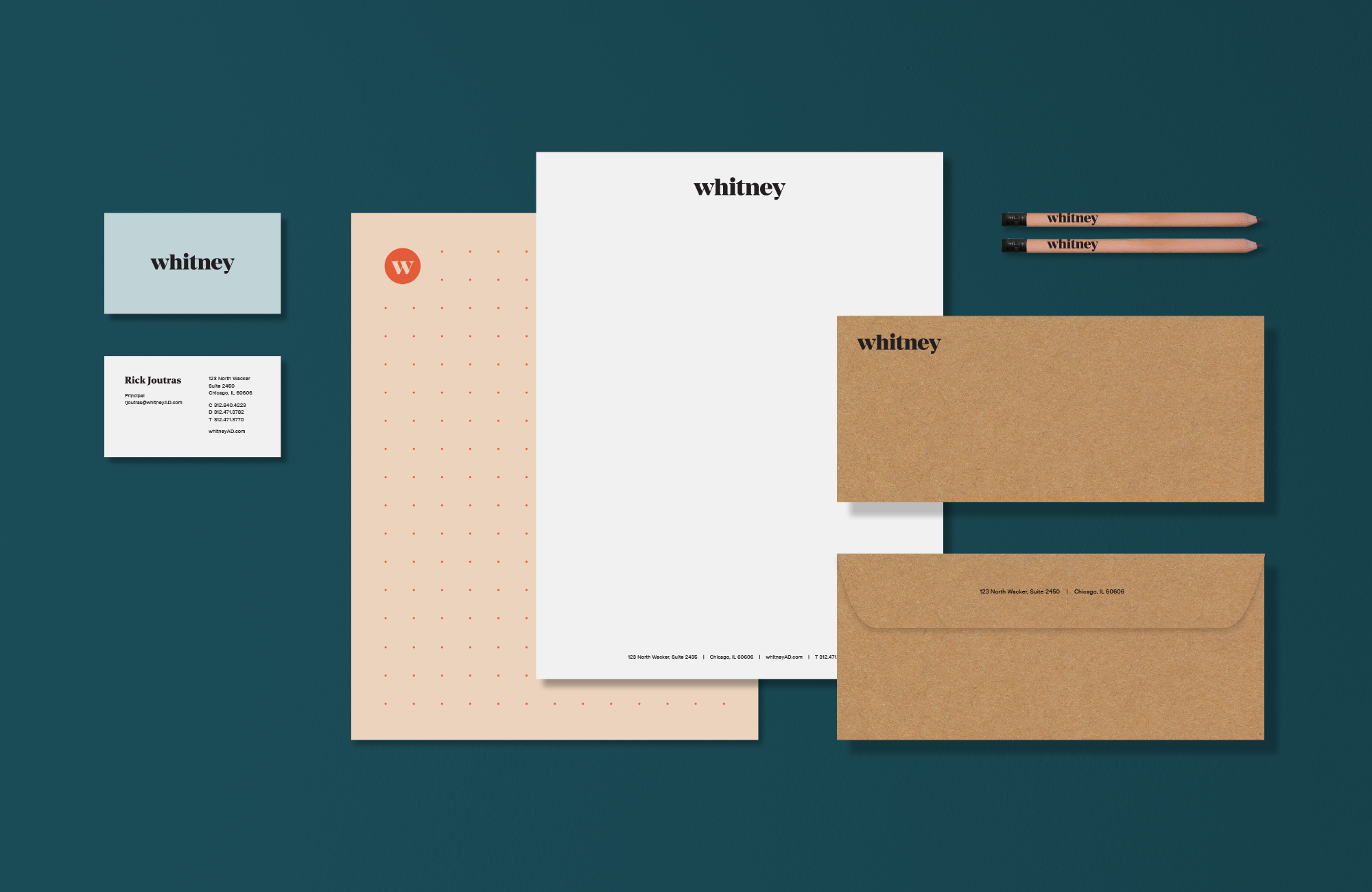 whitney print materials